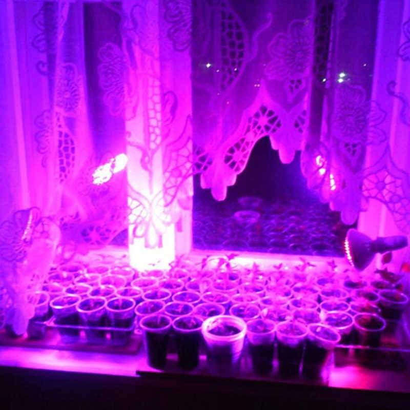Litwod Z30 E27 Spektrum Penuh Tanaman Tumbuh Light Bulb Lampu Lampu untuk Biji Hydro Rumah Kaca Bunga Sayuran Indoor Taman Hidroponik
