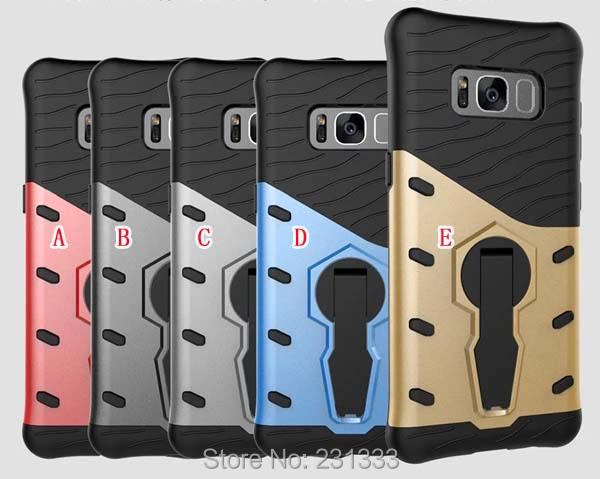 Stand Armor Hybrid Hard PC TPU Case For Samsung Galaxy S9 S8 PLUS J5 A5 2017 J3 Prime MOTO G5 PLUS G3 X Play Phone Cover 50pcs