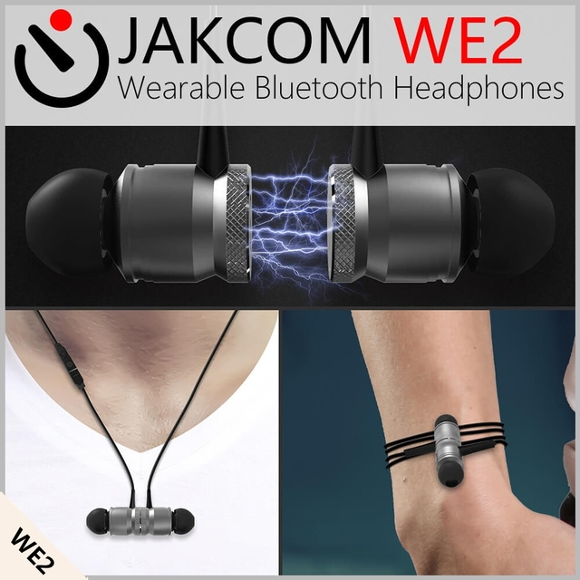 JAKCOM WE2 Thông Minh Đeo Tai Tai Nghe Hot bán trong Cố Định Không Dây Thiết Bị Đầu Cuối như 1900 Telefono Fijo Gsm Pcb Cung Cấp