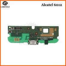 цены на New Micro Dock Connector PCB Board USB Charging Port Flex Cable For Alcatel OT6012 OT 6012 Replacement Parts в интернет-магазинах