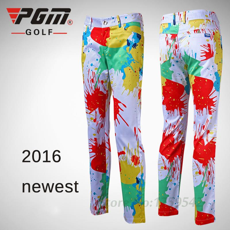 High Quality 2016 Women Golf Multicolor Pants Ladies ...