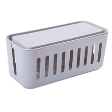 ZW040 Creative collection box Cablebox Power wire cable Desk top power line socket data storage 31*14*14cm
