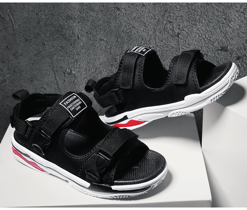 Man Beach Sandals Summer Gladiator Men's Outdoor Shoes Roman Men Casual Shoe Light Flip Flops Slippers Fashion Sandals Casuals 35