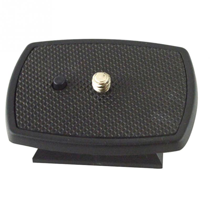 Black Mount Three-dimensional Plastic Adapter Camera Tripod Head Quick Release Plate For 600 668 690 800 Tripod Platform
