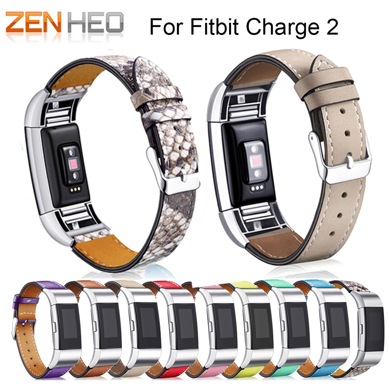 ZENHEO Watchband Replacement Luxury Genuine Leather Band Strap Bracelet For Fitbit Charge 2 Soft Calf Leather Classic watch bandZENHEO Watchband Replacement Luxury Genuine Leather Band Strap Bracelet For Fitbit Charge 2 Soft Calf Leather Classic watch band
