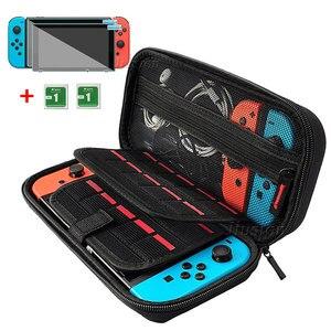 Image 1 - Yükseltme EVA sert kılıf Nintendo Anahtarı Büyük Depolama Taşıma Çantası Taşınabilir Nintendo Anahtarı NS Konsolu Aksesuarları