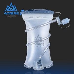 Image 1 - Aonijie sd20 reservatório macio 1.5l hidratação bexiga de água pacote saco de armazenamento de água tpu bpa livre para correr hidratação colete mochila