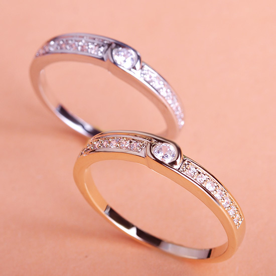 Classic Bridal Elegant Wedding Ring For Women Men Jewelry Anel Loki