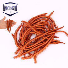 10pcs/lot Sea Worms Fishing Lure 13.5cm 1.9g Floating Artificial Earthworm Soft Lifelike Fishy Smell Grub Takcle Wobbler