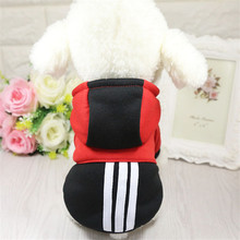 S-XXL Sport Brand Small Pet Dog Clothes Winter Warm Soft Coat pet Cat dog clothes for products
