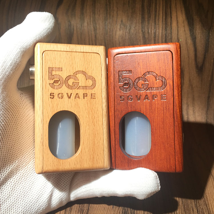 5gvape wood mod squonk bf supercar mechanical box retro design for 18650 battery with 8ml squonk
