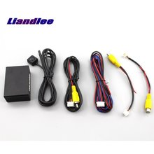 Liandlee Car Front View Camera and Rear CAM Controller Box Converter Switch For Vehicle Blind Spots Area Parking Drivi