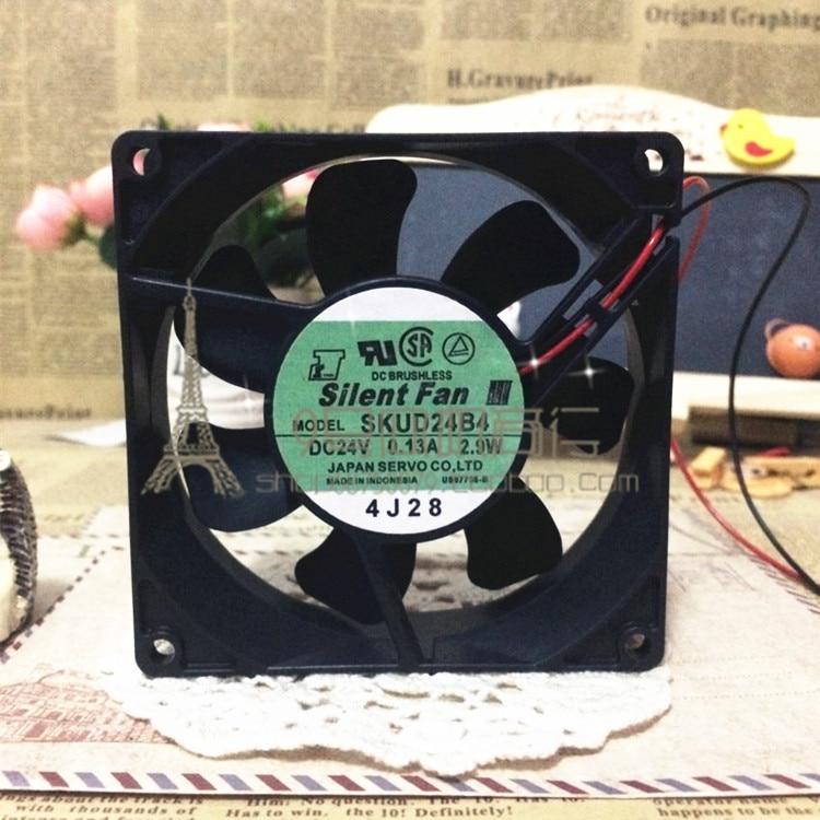 Original SERVO SKUD24B4 DC24V 0.13A 2.9W 92 * 92 * 25MM cooling fan free delivery 9225 inverter argon arc welding machine cooling fan small fan 92 92 25mm dc24v copper motor