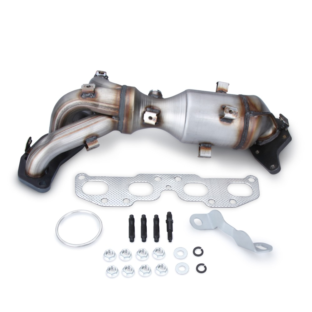Catalytic Converter Exhaust Manifold W For 0712 Nissan Altima 25l New: 2008 Nissan Altima 2 5 S Exhaust Manifold At Woreks.co