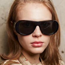 MARC 2019 Luxury Frame Sunglasses Women Oversized Designer Men/Women Sun Glasses Oval Vintage Large UV400 Outdoor Oculos