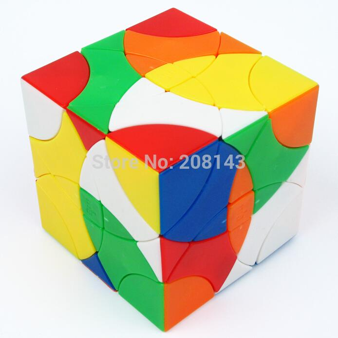 MF8 Curvy Copter Stickerless Professional Magic Cube Brain Teaser for both Children and Adults