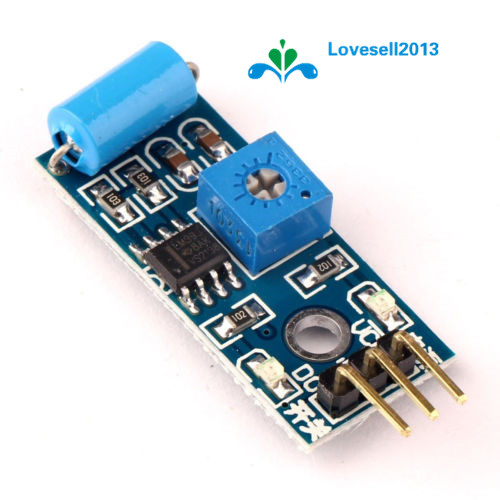 SW-420 Normally Closed Vibration Sensor Module For Alarm System DIY Smart Vehicle Robot Helicopter Airplane Aeroplane Boart Car