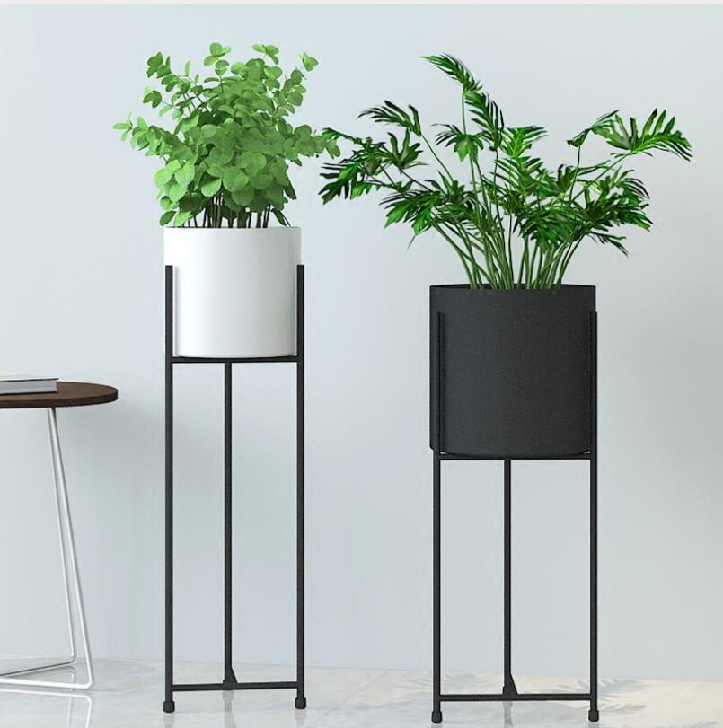 Large Vase For Living Room Good Colors And Kitchen 70cm Tall Standing Shelf Flower Pot With Flowerpot