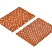 5 шт./лот 5x7 см 5*7 прототип бумага Медь PCB Универсальный Эксперимент Матрица платы