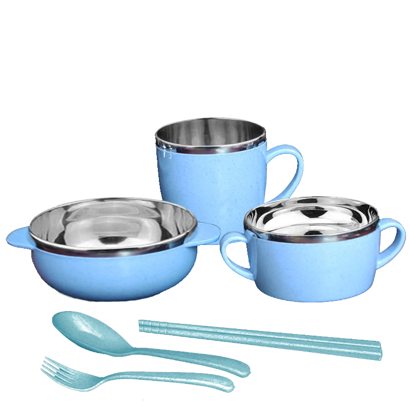 6Conjuntos para alimentos infantiles Loncheras Recién nacidos - Alimentación - foto 5