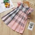 Melario/платье для девочек; Новинка 2019 года; летнее платье; детская одежда; модная одежда принцессы с кисточками для девочек; Детские платья для девочек - фото
