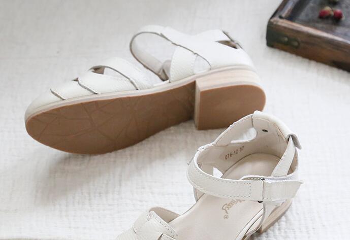 MainLe Art ChaussuresRome Couleurs Sandales Décontractées En Beige À Mori Fille véritable Faites Chaussures brown Cuir Pur Huifengazurrcs Rétro Classiques2 La Appartements iOPTXukZ