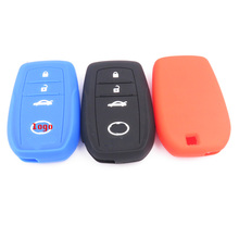 100% SILICONE KEY COVER FIT FOR Toyota reiz highlander landcruiser camry crown KEY CASE FOR CAR INTERIOR ACCESSORIE