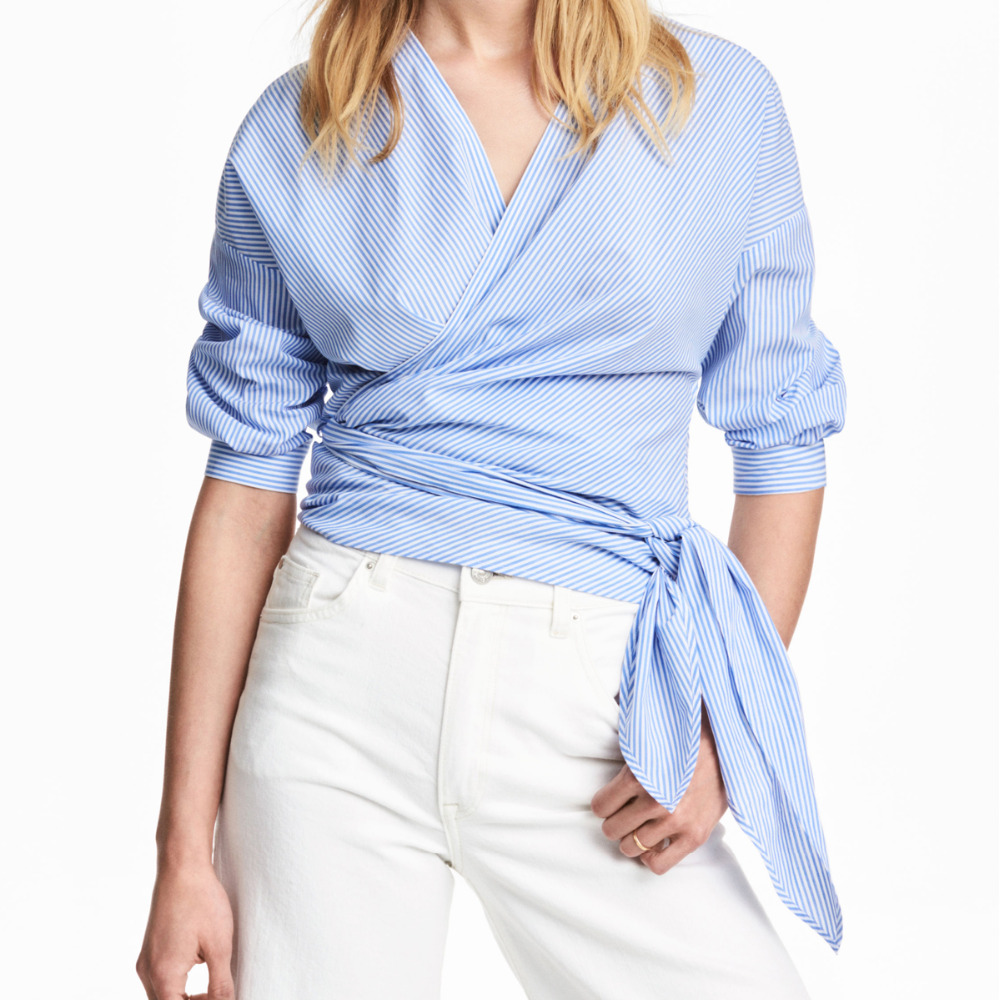 Compare Prices on Wrap Blouse White- Online Shopping/Buy Low Price ...