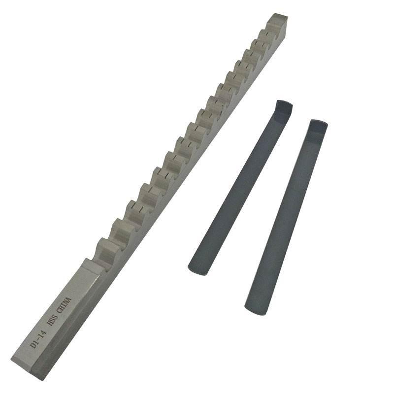 1PC Keyway Broach 14mm D Push Type Metric Size High Speed Steel Material Metalworking Cutting Tool