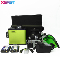 XEAST New XE 21A Green Laser Level 5 Lines 6 Points 4V 1H 360 Rotary Self