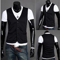 New! Hot! 2015 Spring And Autumn Slim Male Casual Vest Sleeveless Knitted Vest
