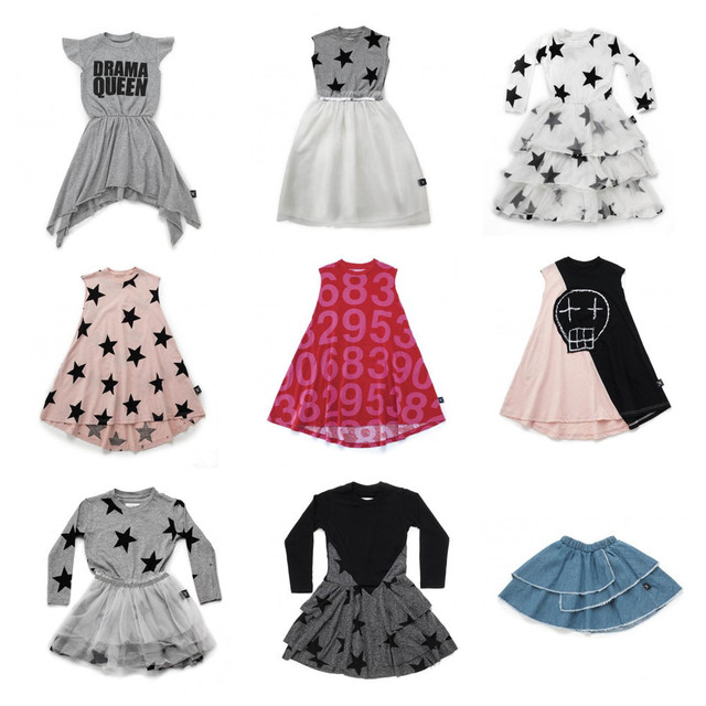 d8f78944bb Pre sale Girls Dresses Nununu 2019 SS Girls Numbered Circle 360 Princess  Dress Toddler Baby Girls Clothes Star Tulle Dress 1 11Y-in Dresses from  Mother ...