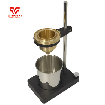 30s-100s Coating and Painting 100ml Viscosity Cup-4mm With Shelf Viscometer
