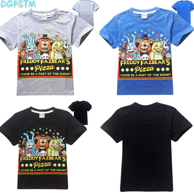 568fcc0c2967d US $8.78 |New boys clothes cartoon children t shirts five nights at  freddy's clothing camiseta kids clothes boys t shirt 5 freddys tops-in  T-Shirts ...