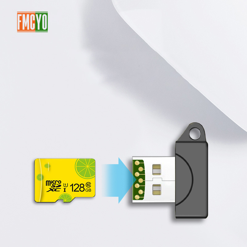 Image 5 - High Speed Mini USB 2.0 Micro SD TF T Flash Memory Card Reader Adapter Aug04 Dropship-in Card Readers from Computer & Office