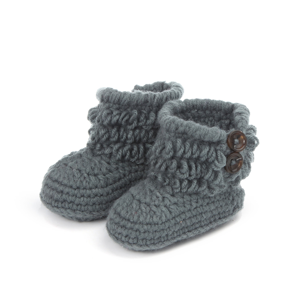 Handmade-Crochet-Baby-Shoes-Girls-Knitted-Tassels-Ankle-Baby-Boots-Toddler-Girl-Boy-Wool-Snow-Crib-Shoes-Socks-Booties-T0081-4