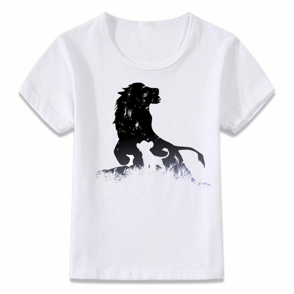 ad89b8d446bd Detail Feedback Questions about Kids Clothes T Shirt A King Is Born Lion  Mufasa and Simba Tee T shirt for Boys and Girls Toddler Shirts on  Aliexpress.com ...