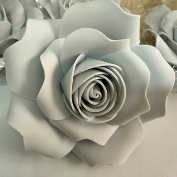 5X10CM Foam flowers Wedding decoration Large Artificial flowers shooting props Handmade Romantic Party paper flower foam roses