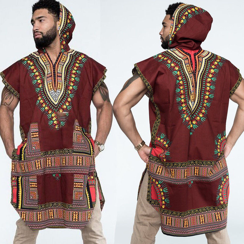 5657fc61a4f 2018 New Style African Men T Shirt Hipster Hip Hop Dashiki Crew Neck  Elongated Longline T Shirt Men Casual Shirt Plus Size M 3XL-in T-Shirts  from Men s ...