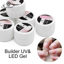 ZHENDUO 3 Colors UV Builder gel polish Manicure Gel Phototherapy Glue Nail Shop Special Purpose