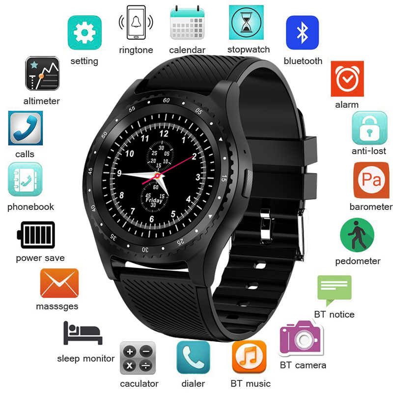 LIGE 2019 New Smart Watch Men Women Fashion Sport Fitness Watch Support SIM TF Card Smartwatch reloj inteligente For Android IOS meanit m5