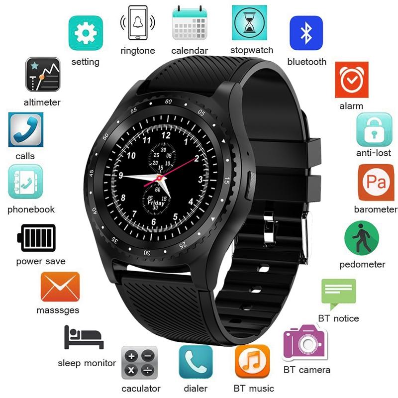 LIGE 2019 Nova Inteligente Relógio Das Mulheres Dos Homens de Moda Esporte Relógio De Fitness Apoio Cartão TF SIM Smartwatch reloj inteligente Para Android IOS