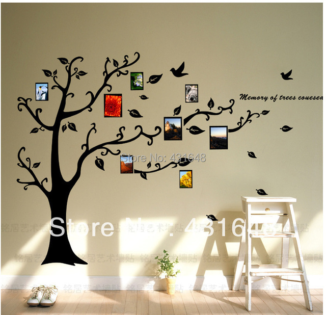 Supernova Salephoto Frame Family Tree Wall Decalvinyl Wall Art