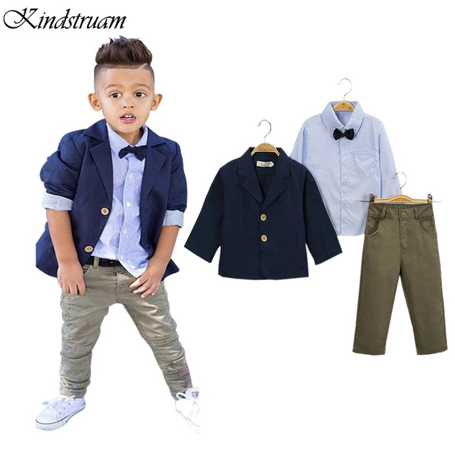 2017 Formal Suits For Boys European American Style Kids Clothing