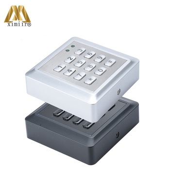 Waterproof Door Access Control System F010-K Smart Card Access Control Reader With 13.56MHz MF IC Card Reader