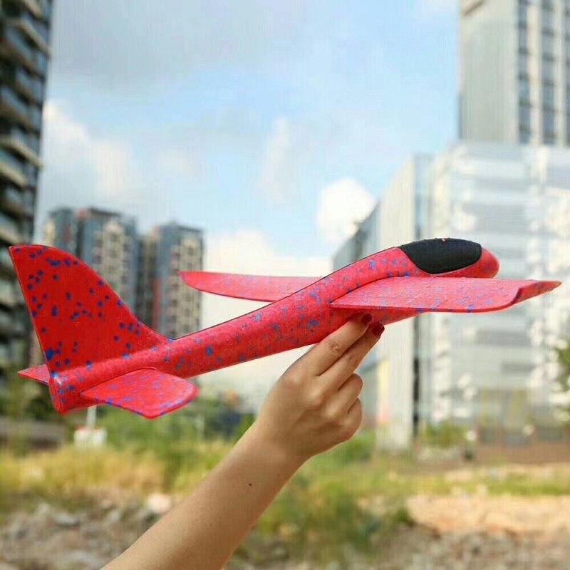 Avion en mousse à inertie, jouet d'avion EPP, modèle d'avion, jouets éducatifs et éducatifs, lancement de la main, 38cm de bonne qualité 3