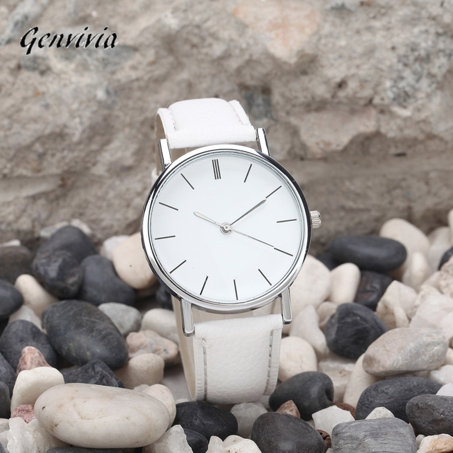 GENVIVIA relogio masculino Luxury Brand Black Stainless Steel Strap Watches Anal