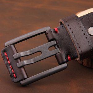 Image 4 - [DWST] 2019 メンズ高級ベルト革メンズベルト cinturones hombre ピンバックル ceinture 男性ビジネスデザイナーベルト男性品質