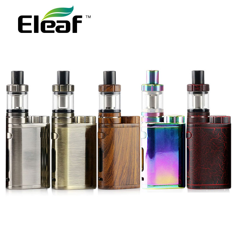 Original Eleaf iStick Pico 75W MOD New Colors with Eleaf MELO 3 Mini Tank 2ml supports VW/Bypass/TC/TCR Modes Without Battery