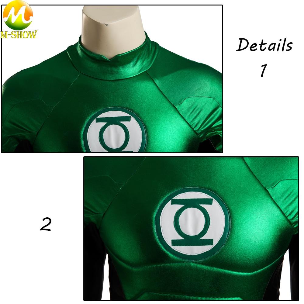 3d Printed Black Green Lantern  Custom Super Powers Series 4